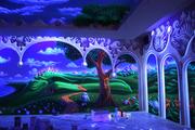 Флуоресцентная краска для дизайна