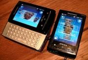 Новый Sony Ericsson Xperia X10 Pro Мини Белый GPS Уор